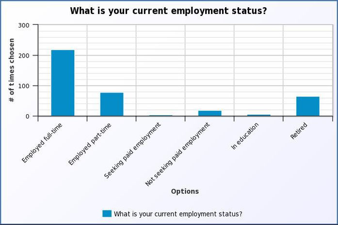 What is your employment status?