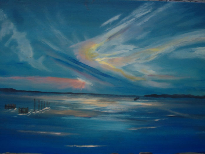 Lumières atlantiques, des dessins dans le ciel.