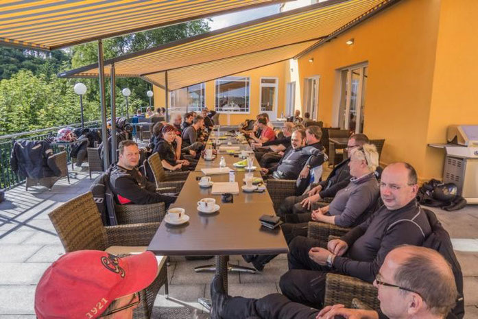 2015 - Saisonausklang im Altmühltal - Café Schönblick Eichstätt