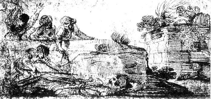 Giovanni Francesco Barbieri, dit Guercino ou le Guerchin (1591-1666)
