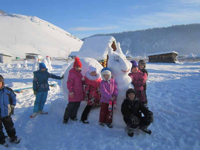 В мире снежных фигур, декабрь 2015 г.