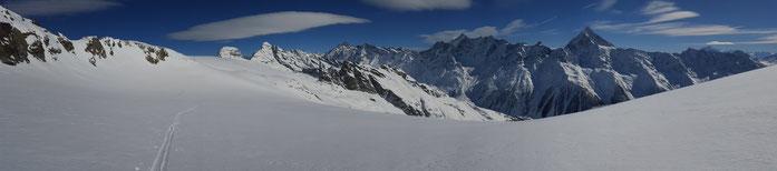 Skitour zum Petersgrat
