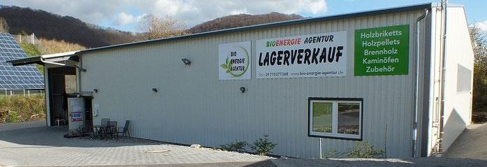 Lagerverkauf Briketts Holz Holzpellets in Gruibingen an der A8 Stuttgart - Ulm