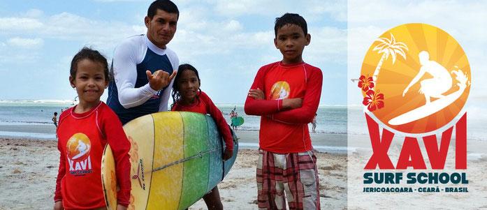 Xavi surf kids projeto social
