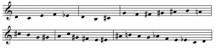 """Abbildung: Uli SCHAUERTE Sinfonietta, zugrundeliegende """"Gestalt"""""""