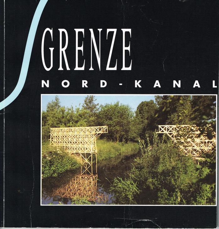 """Titelbild der Broschüre zu """"Grenze Norkanal"""""""