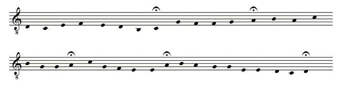"""Abb.: Uli SCHAUERTE """"Gestalt"""" der Sinfonietta """"gregorianisiert"""""""