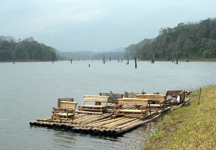 « Periyar National Park 01 » par Bernard Gagnon — Travail personnel. Sous licence CC BY-SA 3.0 via Wikimedia Commons - https://commons.wikimedia.org/wiki/File:Periyar_National_Park_01.jpg#/media/File:Periyar_National_Park_01.jpg