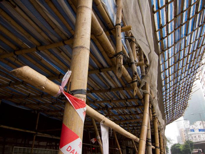 Échafaudage en bambou - Richard Lehoux CC2.0