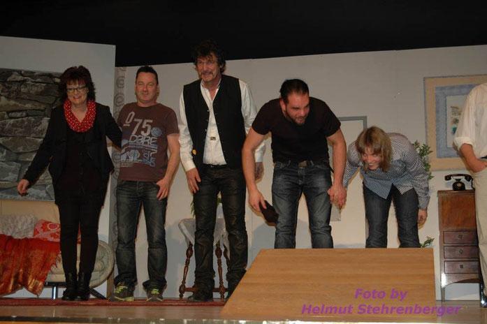 (v.l.) Agnes Hermann, Heiner Häring, John Waldmeier, Alain Huber & Sabrina Rudin
