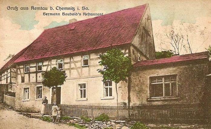 Alte Ansichtskarte von 1902