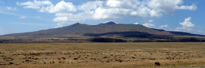 Stratovolcano Mount Longonot - Nakuru