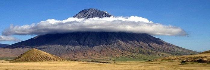 Ol Doinyo Lengai, stratovulcano.