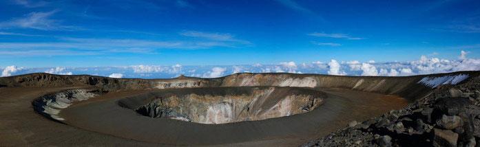 Kilimanjaro crater