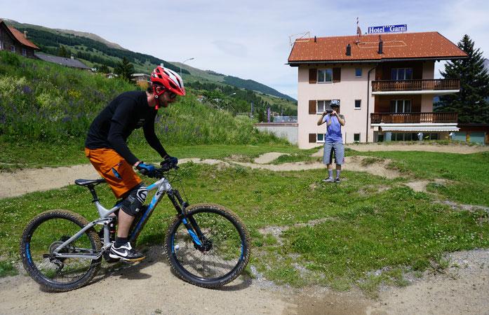 Privater Mountainbike MTB Guide in Scuol, ValMüstair, Samnaun