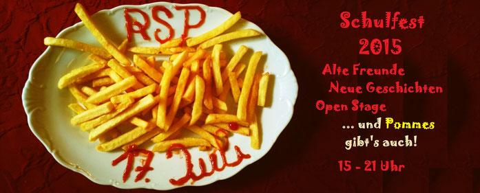 Wir sind auch auf facebook unter rsp vertreten. Die Teilnehmerliste zum Schulfest ist schon recht lang...