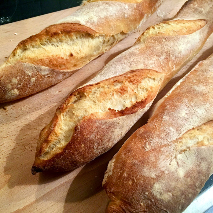 Franzoesisches-Baguette-backen
