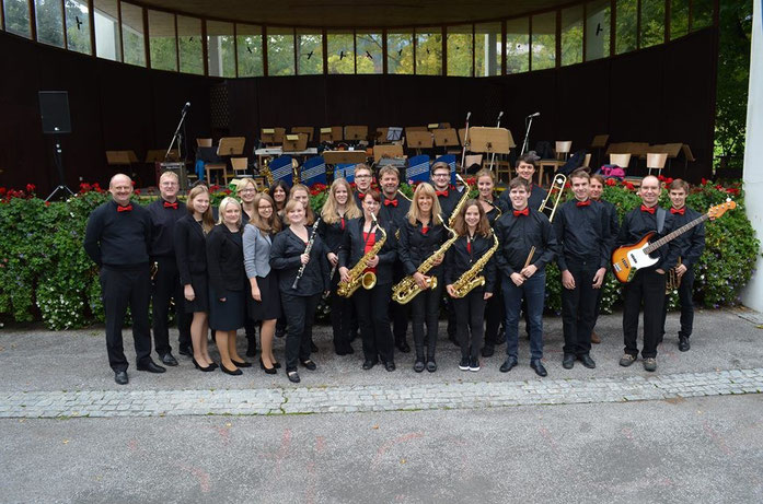 Gruppenfoto Bigband Nandlstadt