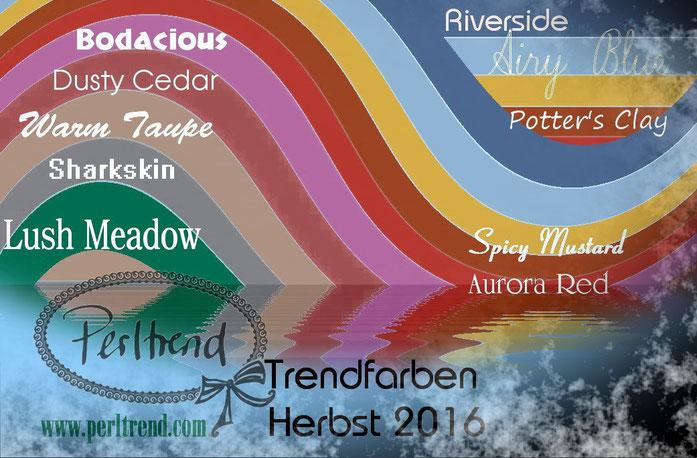 www.perltrend.com Trendfarben Herbst 2016