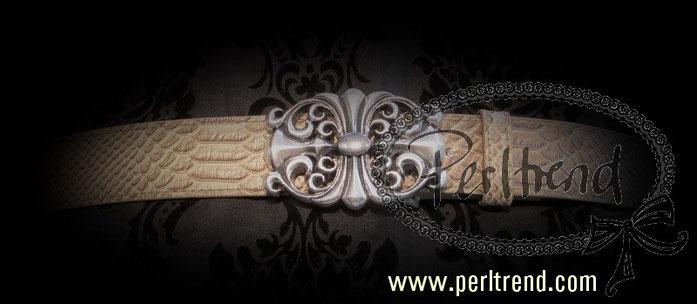 www.perltrend.com Accessoires Gürtelschnallen zum Auswechseln