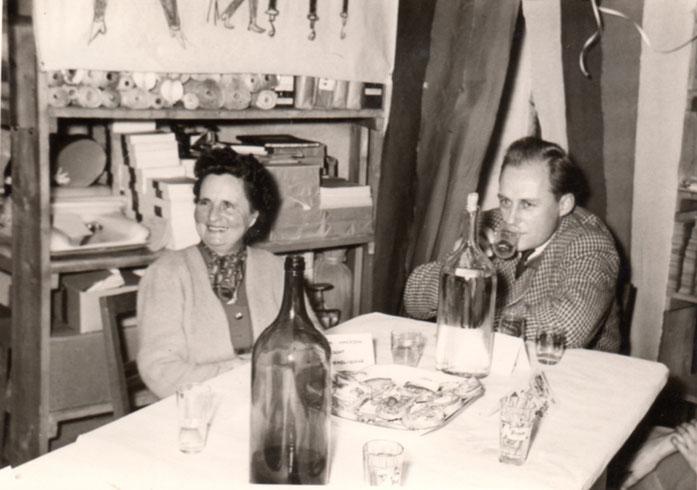 Mutter und Sohn: Emilie & Josef Heindl