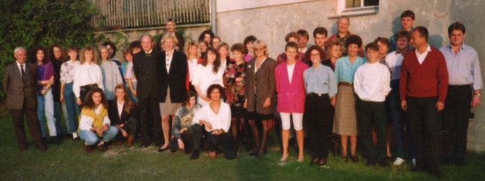 Mitarbeitertreffen 1992 anlässlich vom 70er Josef Heindl