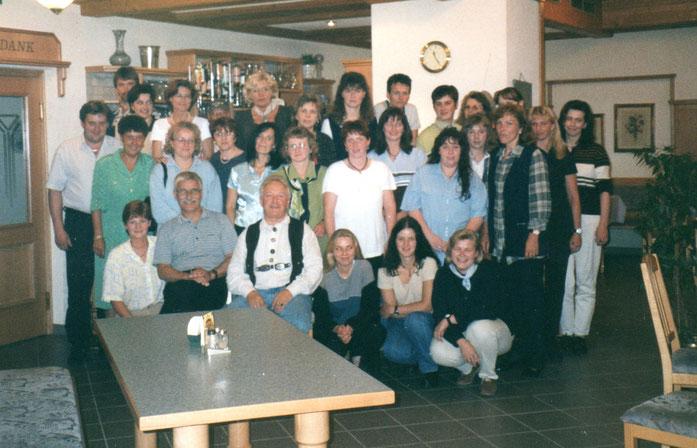 Mitarbeitertreffen ca. 1989