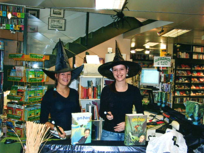 Harry Potter Fieber in der Buchhandlung