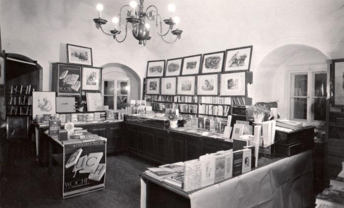 Das Geschäft im Linzer Tor um 1968