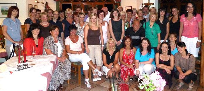 Das letzte Mitarbeitertreffen mit Ehemaligen 2012