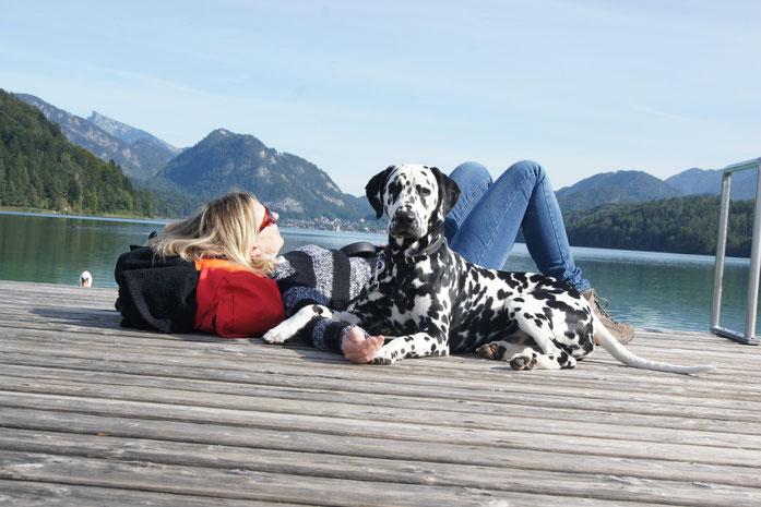 Urlaub in den Bergen... Angela und Elton vom Furlbach