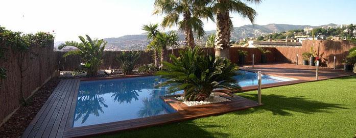 Construccion de piscinas de obra en Barcelona