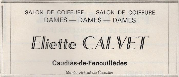 1976 Publicité dans un livret écrit par François Fabre