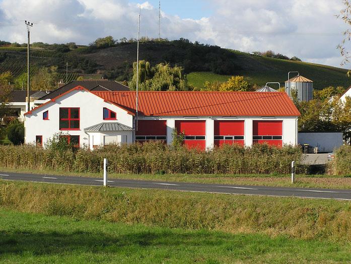 Feuerwehrgerätehaus Frei-Laubersheim an der L409