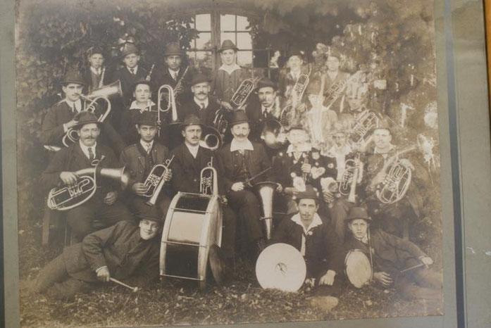 Musikverein Unterpremstätten anno 1922