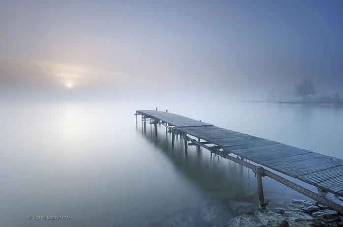 143. Steiger in de mist nabij Edam