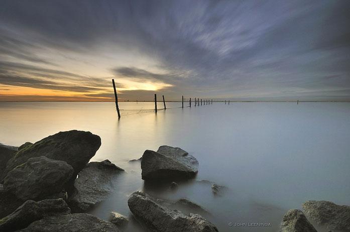 162. Netten in het IJsselmeer