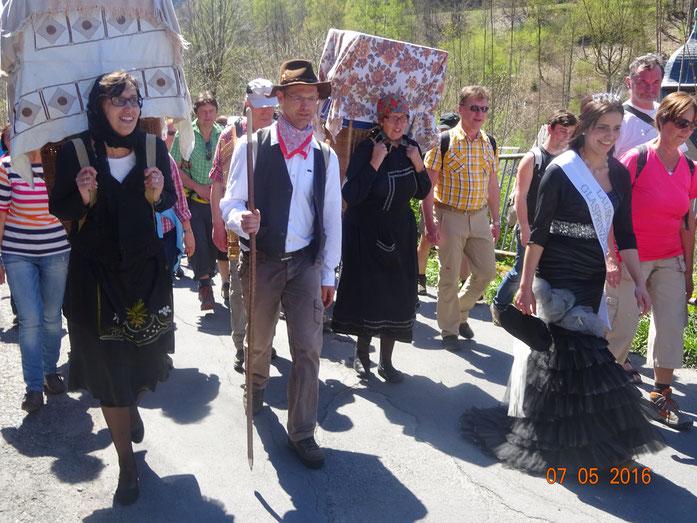 Auf dem historischen Glasbläserpfad unterwegs (7. Mai 2016)