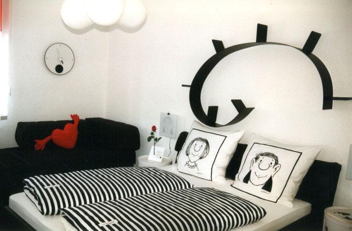 """Foto: Doppelzimmer """"Spaß-Zimmer"""", wird auch als Dreibettzimmer vermietet"""