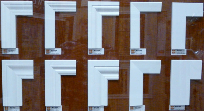 Door casing display