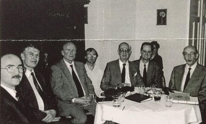 Die Gründungsmitglieder am 11. März 1995 in München.