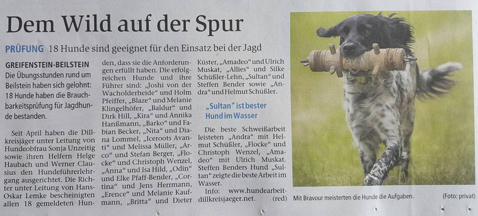 Tageszeitung am 14.10.2016