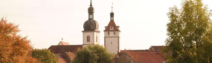 Die Türme Prichsenstadts