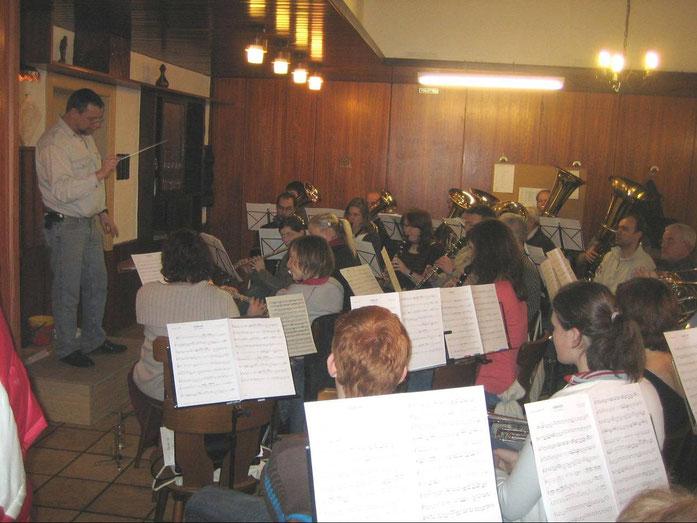 16.02.2006 - Erste Probe im (alten) neuen Vereinslokal