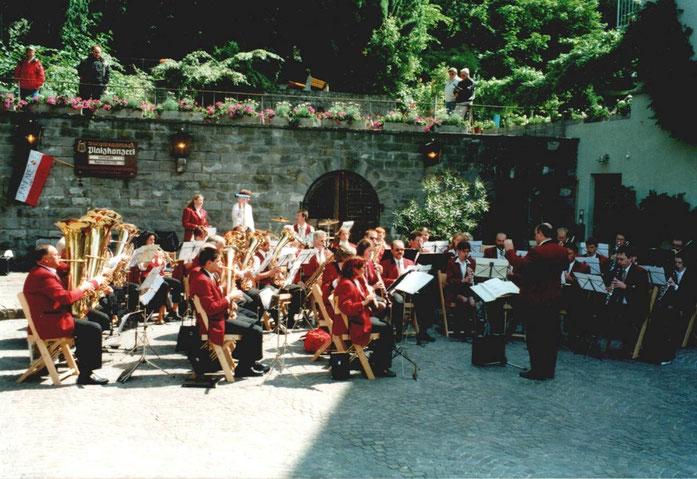 2001 - Konzert an Pfingstmontag in Meersburg