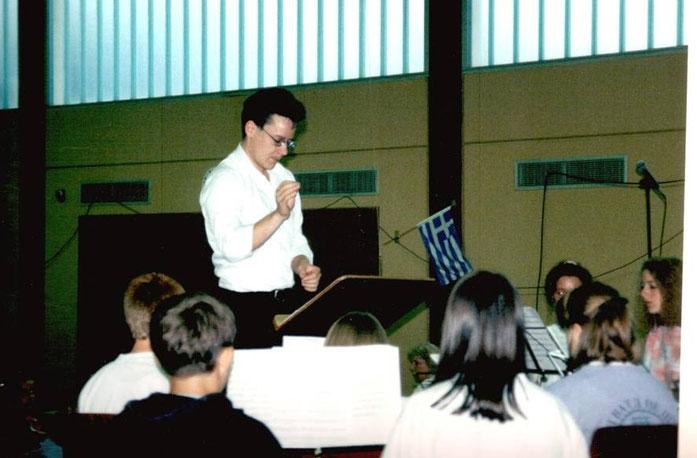 1997 - Jugendorchester unter der Leitung von Sascha Kohns