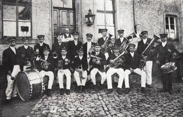 Aufnahme aus dem Jahr 1910