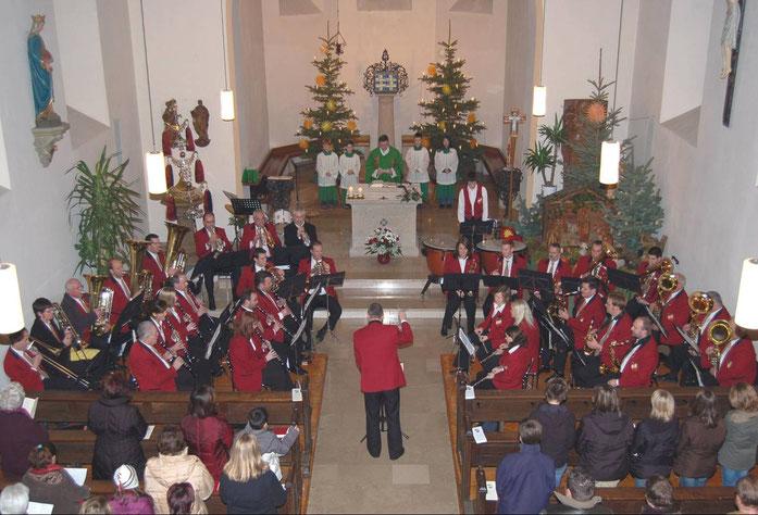 14.01.2006 - Messe in unserer Pfarrkirche St. Barbara