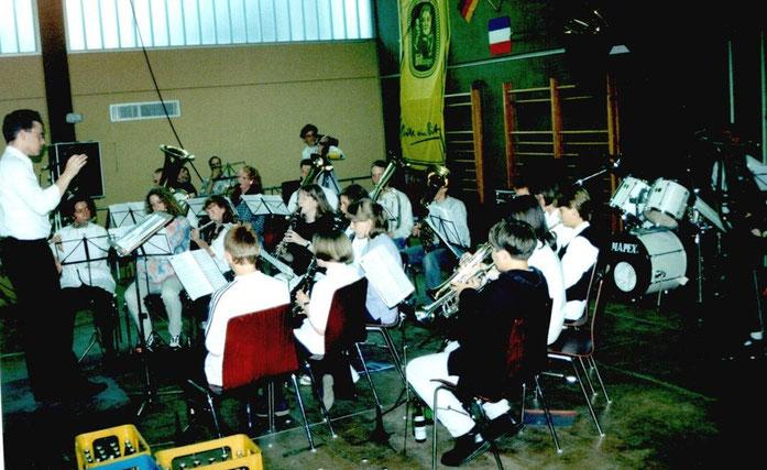 1997 - Auftritt des Jugendorchesters