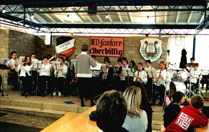 2001 - Jugendorchester unter der Leitung von Karen Abbey